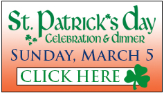 St. Patrick's Day Celebration Registration Web Button