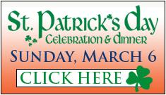 St. Patrick's Day Celebration Registration Web Button